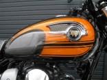 カワサキ W800 ファイナルエディション ブラウン/オレンジ タンク