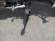新車バイク ホンダ CRF1000L アフリカツイン トリコロール サイドスタンド