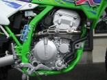 カワサキ KLX250 ファイナルエディション グリーン エンジン