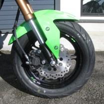 カワサキ Z125PRO KRT Edhition グリーン/ブラック 全国500台限定車 フロントホイール