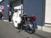 ホンダ プレスカブ(50cc) ブルー 後ろ側