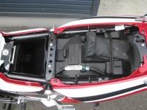 中古車 ホンダ CB400スーパーボルドール ハイパーV-TEC Revo レッド/ホワイト シート下収納