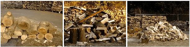 薪割り場所・保管場所の提供
