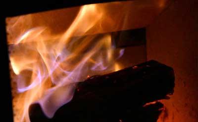 オーロラの炎