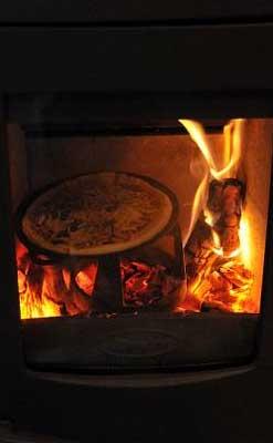 アストロラインでピザ