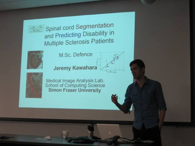 How to segment the spinal cord and predict disability in multiple sclerosis patients