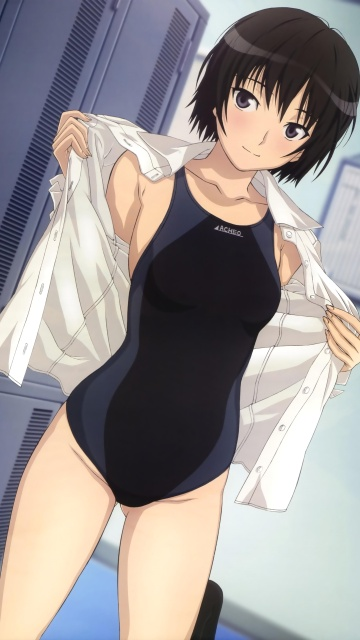 Anime Wallpaper Iphone X Amagami Ss Ai Nanasaki 360x640 1
