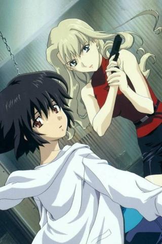 Evil Anime Girl Wallpapers Noir Anime Wallpaper For Iphone Nokia