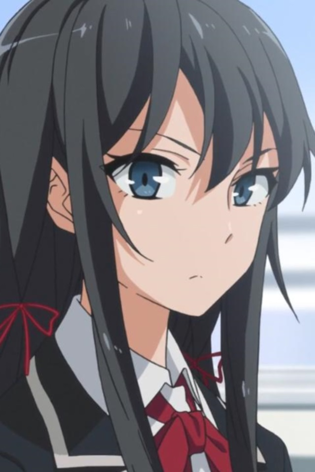 Liquid Wallpaper Iphone X Oregairu Yukino Yukinoshita Iphone 4 Wallpaper 640x960 1