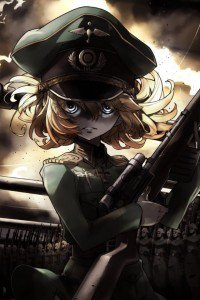 Christmas Anime Girl Wallpaper Saga Of Tanya The Evil Iphone And Android Wallpapers