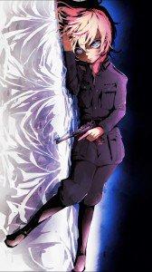 Kawaii Anime Girl Iphone Wallpaper Saga Of Tanya The Evil Iphone And Android Wallpapers