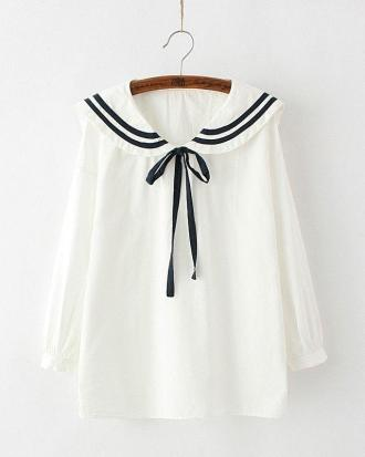 Japanese style sailor shirt