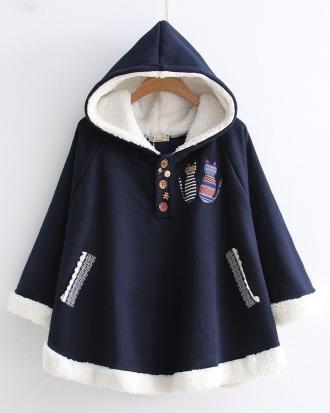 Hooded Bunny Student Jacket