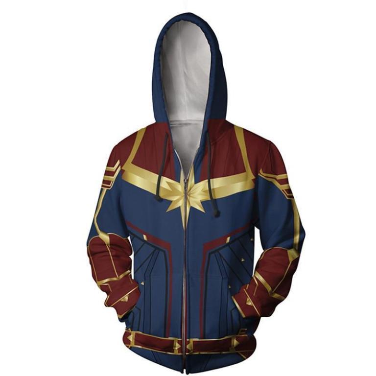 Sudadera de Capitana Marvel