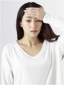 更年期の頭痛のイメージ画像