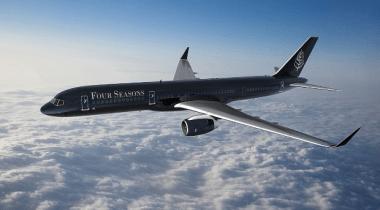 Avião de luxo Four Seasons