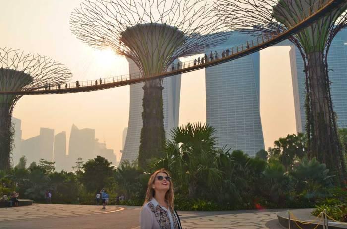 SuperGroove Tree e o hotel Marina Bay Sands