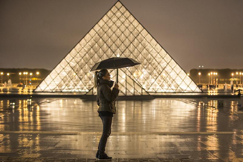 O que fazer em Paris na chuva