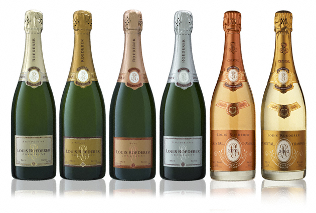 champagnes mais caros do mundo