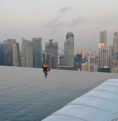 piscinas de luxo hotel em Singapura