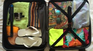 Como viajar apenas com a mala de mão