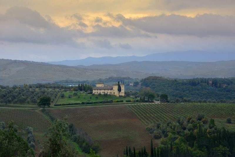 Hotel de luxo na Toscana