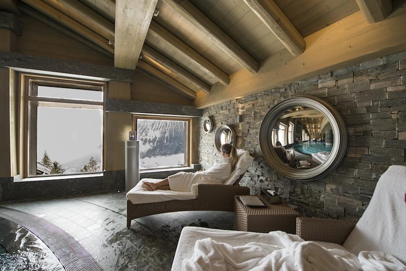 hotel de luxo viagem para Courchevel