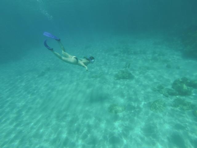 Mergulho turístico em Cuba