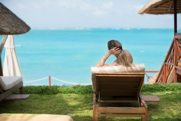 Vista do Resort em Zanzibar