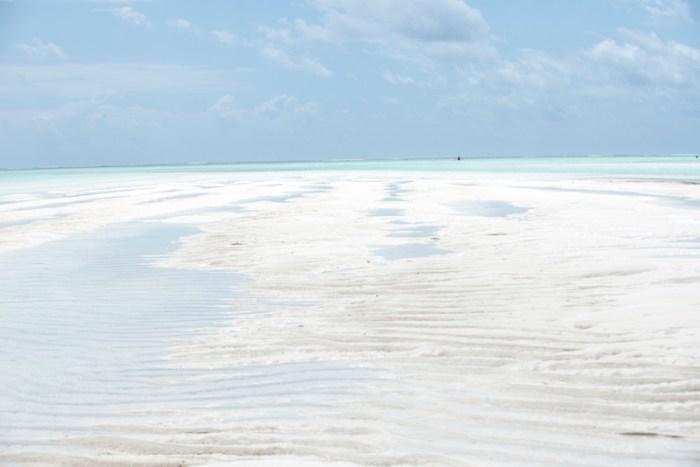 Praias do leste em Zanzibar