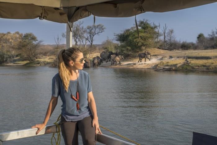 Cataratas Vitória no Zimbábue