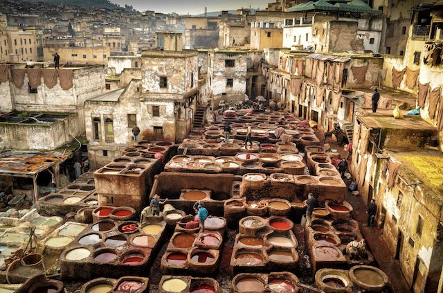 passeios para os curtumes em Fez