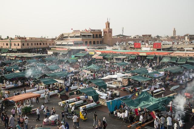 melhores lugares pra conhecer em Marrakech