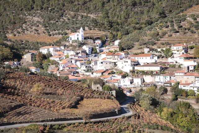 vinícolas do Douro de trem
