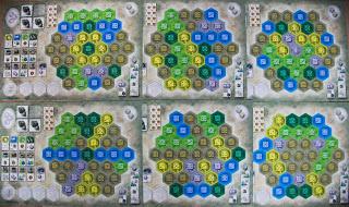 Różne rodzaje plansz graczy przedłużają żywotność gry