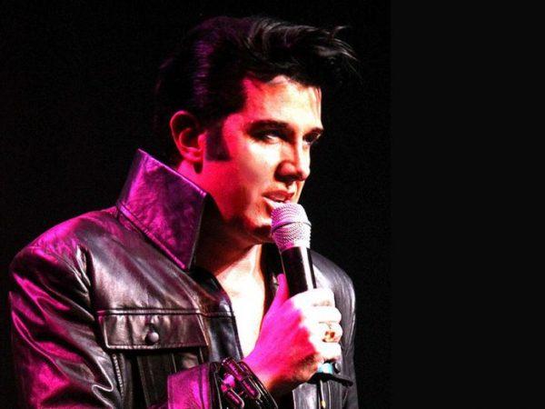 Champion Elvis tribute artist Matt Cage performs the music