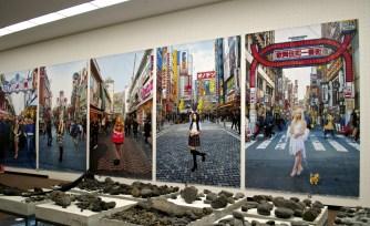 森ナナ 東京モナリザ展示の様子 (1024x619)