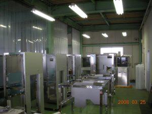 第二工場 簡易組立スペース