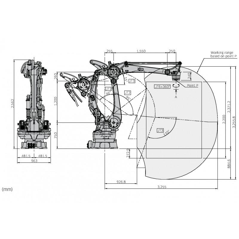 Kawasaki Robot Palletiser CP500LEE03