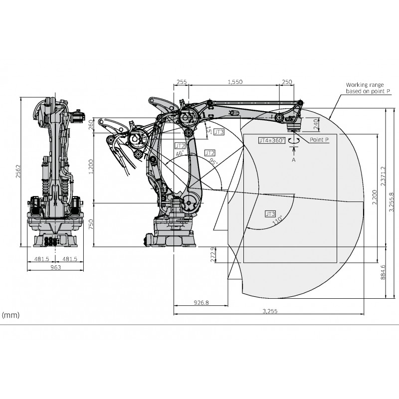 Kawasaki Robot Palletiser CP700LEE03