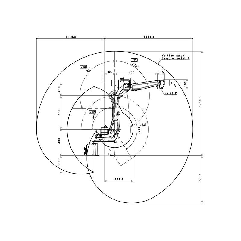 Ready to Weld Set Kawasaki Welding Robot BA006NFE01 with