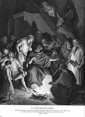 Peters Denial of Jesus