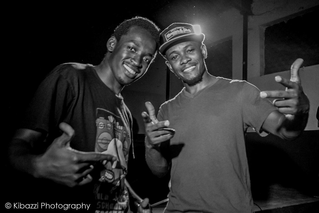 With Tekya 'Abramz' Abraham (Breakdance Project Uganda & Rock Steady Crew) after judging battles, holding workshops and discussions in Jinja, Uganda at Youth Legacy Africa Community event.