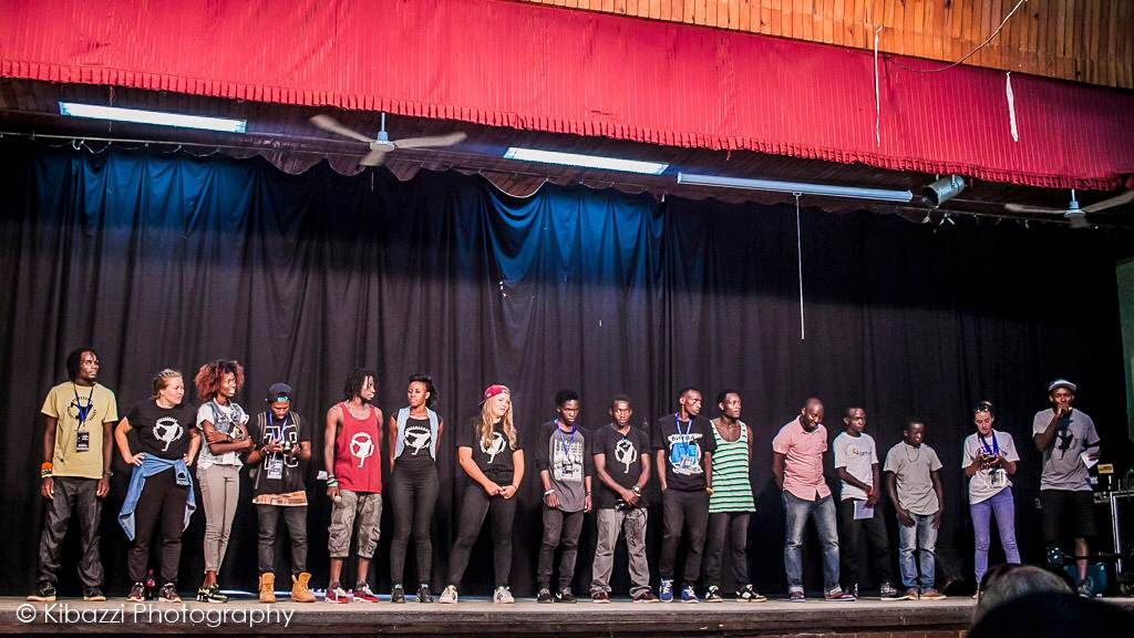 Organizing team for Hiphop 4 society 2016