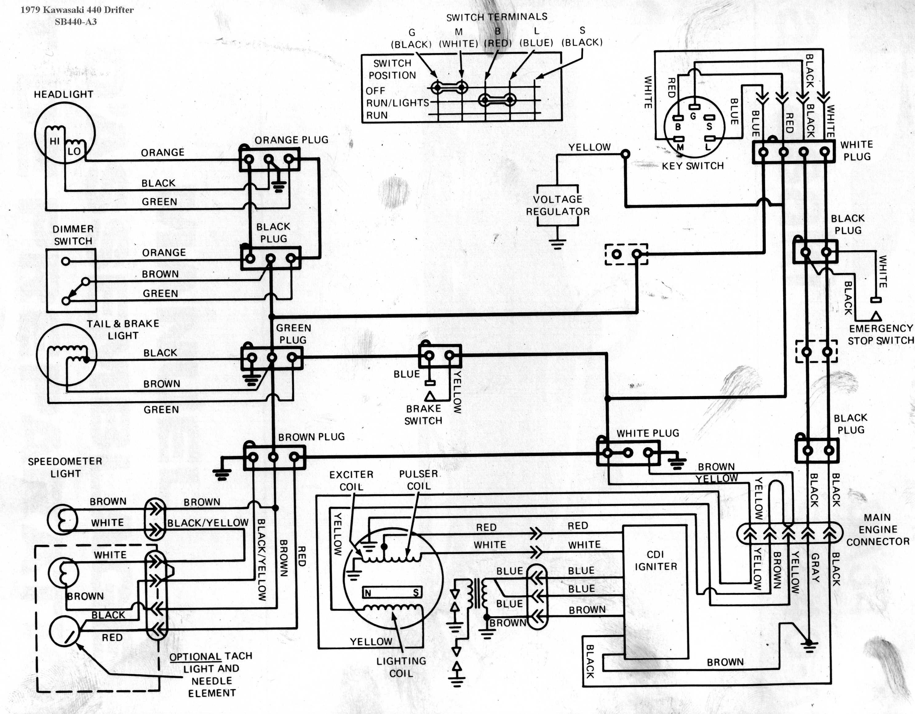 Kawasaki 500 Wiring Diagram