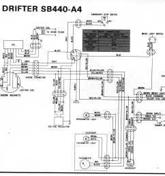 1980 drifter 440 sb440 a4 kawasaki drifter wiring diagrams  [ 3185 x 2747 Pixel ]