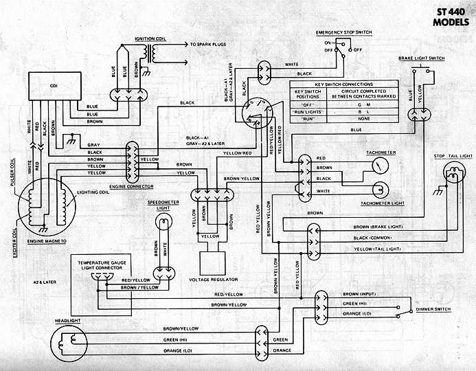 Generic Kawasaki Snowmobile Wiring Diagrams