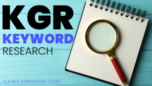 Read more about the article KGR কিওয়ার্ড কি? কিভাবে KGR কিওয়ার্ড বের করবেন?