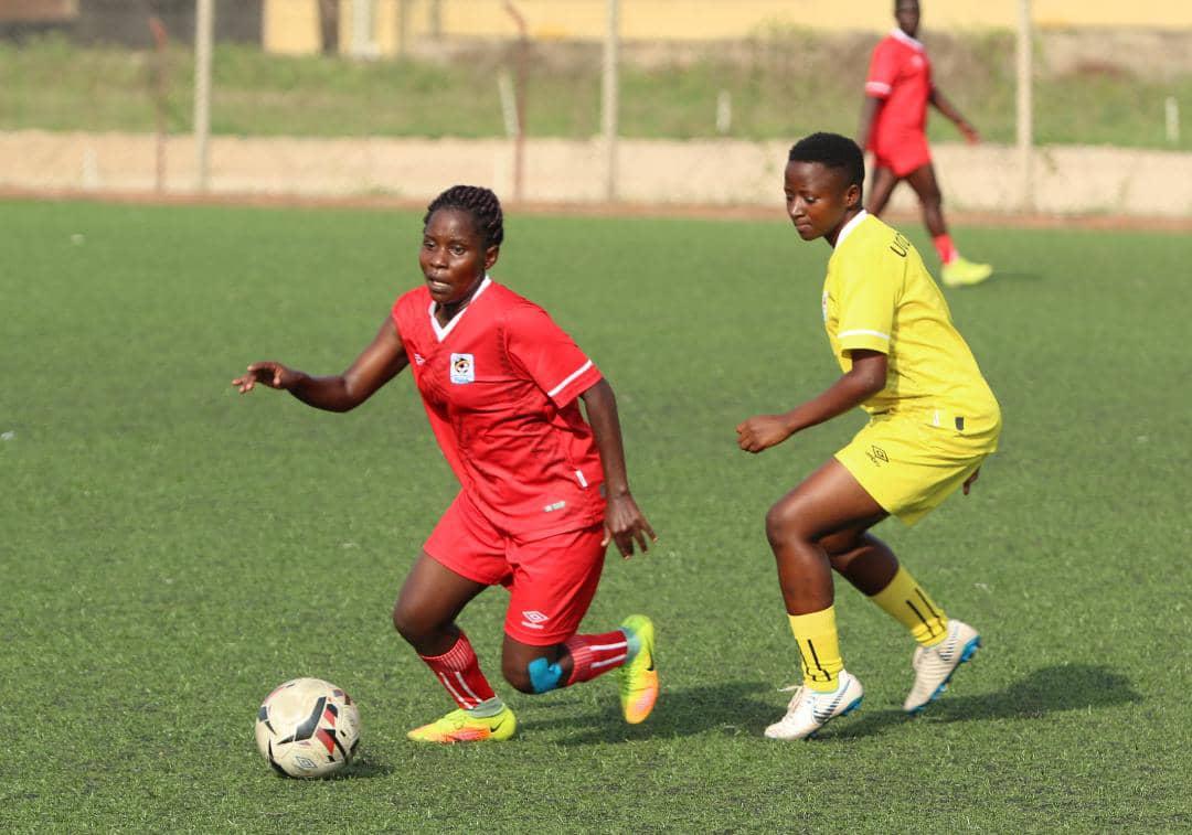 Crested Cranes edge Uganda U20 Women's National Team in practice match