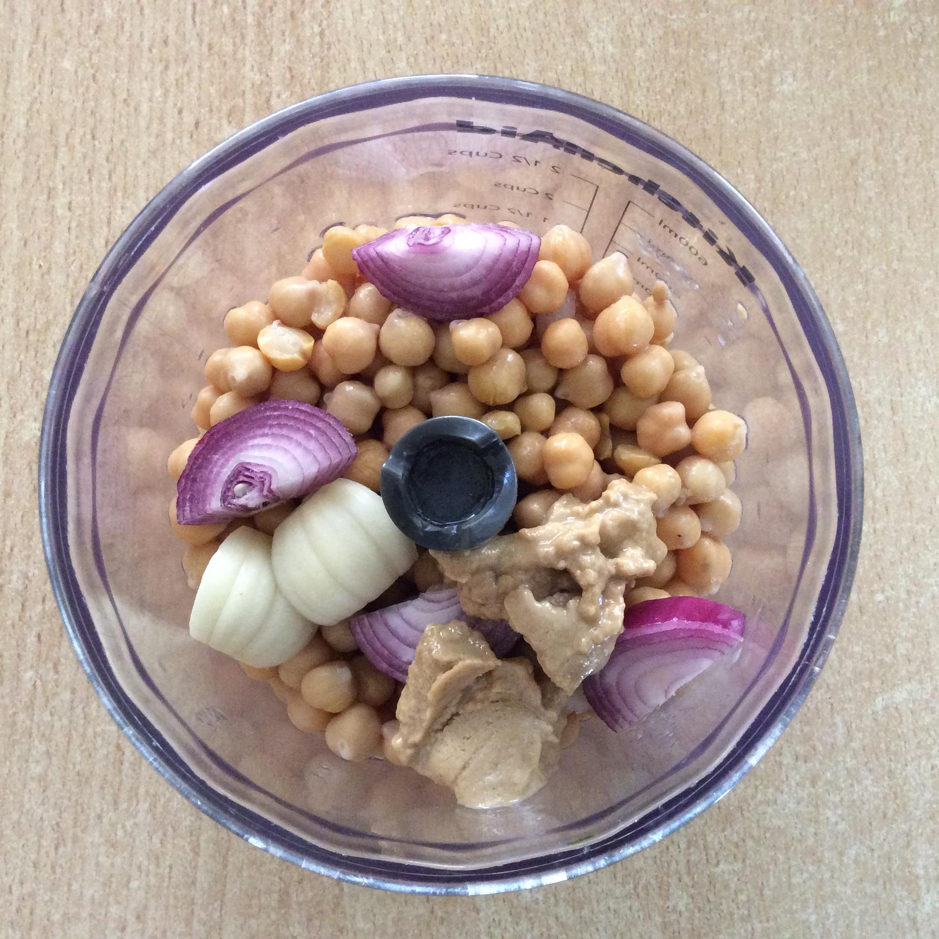 Hummus Dip Zubereitung